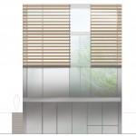 élévation façade jardin